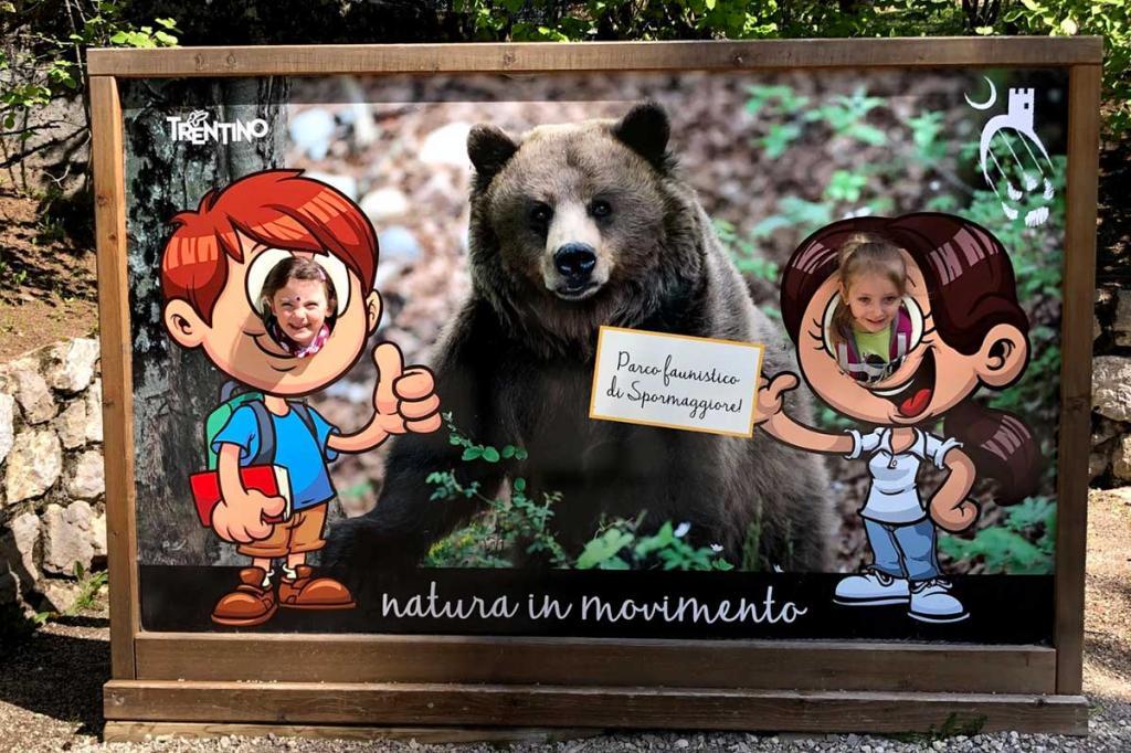 Parco-Faunistico-Spormaggiore vacanza-famiglia-Andalo Hotel-Stella-Alpina3